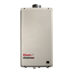 Rheem 27L Internal Gas Continuous Flow Water Heater : 60°C